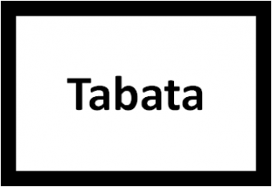 Tabata Trainingssystem