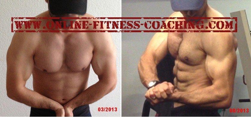vorher nachher Muskelaufbau Diät vorher nachher Bilder vorher nachher Fotos
