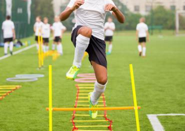 Fußball Training Kraftaufbau