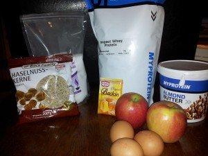 Apfel Zimt Muffins, Eiweißmuffins, Fitnessmuffins