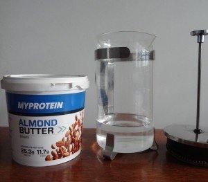 Mandelmilch selber machen Almond milk