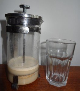 Mandelmlich Almond milk
