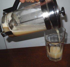 Mandelmilch Almond milk