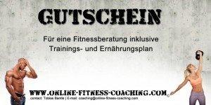 Fitness Gutschein Fitness Geschenke