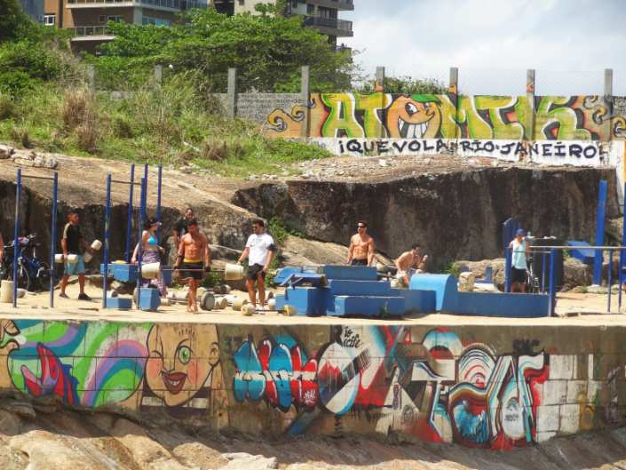 Muscle Beach Rio