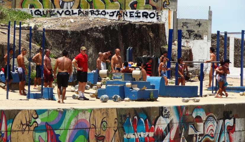 Brasilien Fitnessstudio