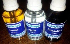 FlavDrops von Myprotein im Test