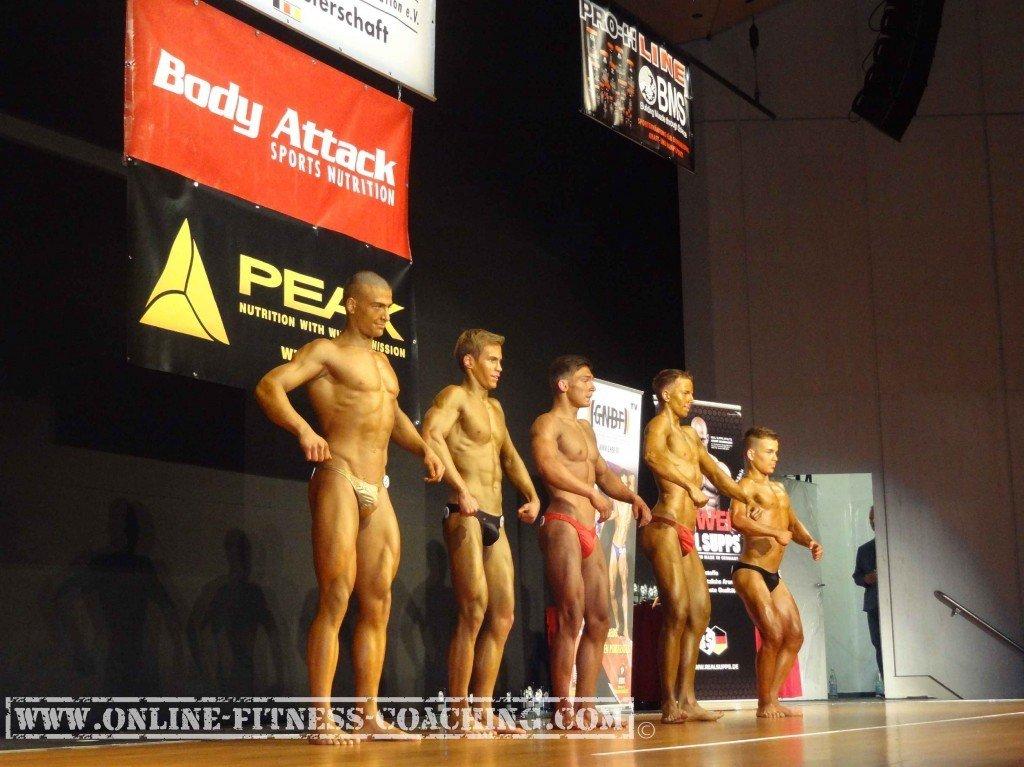 Bodybuilding Wettkämpfe 2017