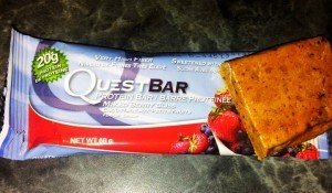 QuestBar Test mixed Berry