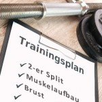 2er Split Muskelaufbau Trainingsplan