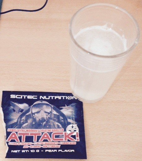 Attack! 2.0 Pre-Workout Booster von Scitec Nutrition im Test 3