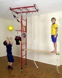 Fitnessgeräte für Kinder Klettergerüst