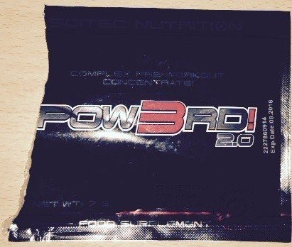 POW3RD! 2.0 Test Pre-Workout Booster 1
