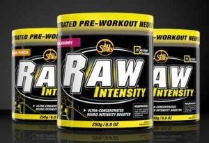 Pre-Workout Supplement Raw Intensity Test