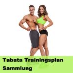 Tabata Trainingsplan Sammlung