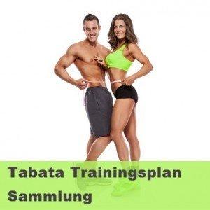 Tabata Trainingsplansammlung