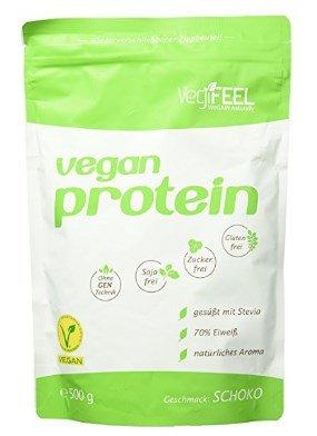 Vegane Eiweißpulver Test VediFEEL
