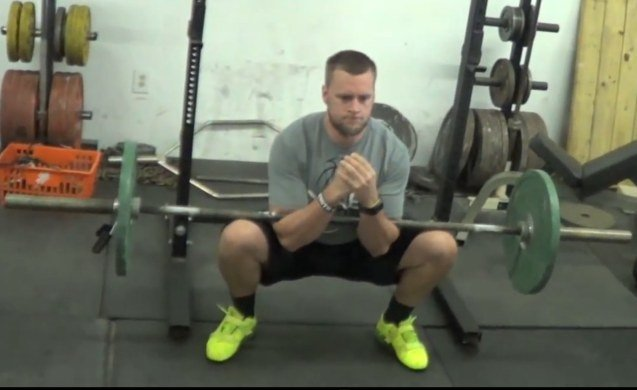 Zercher Squat
