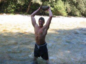 Martin Wildauer Strong Man mit 15 Jahren 2