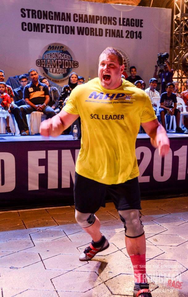 Martin Wildauer Wettkampf Strong Man 3