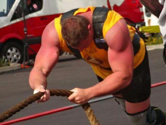 Martin Wildauer Wettkampf Strong Man
