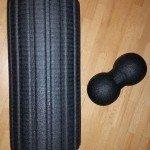 Faszien Training foam roller