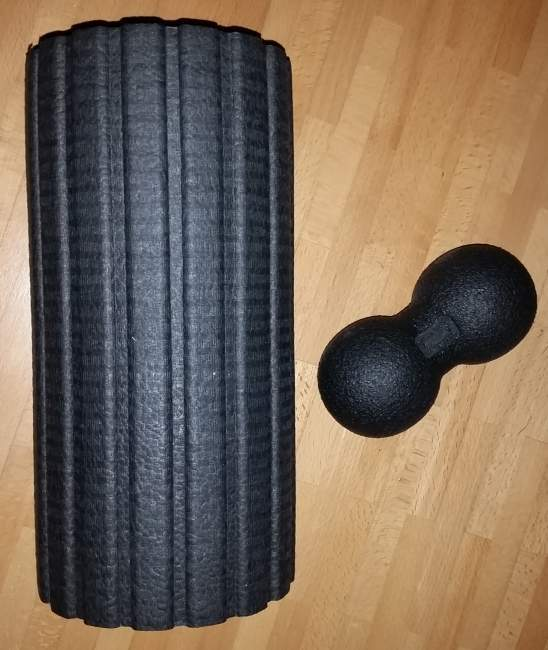 Faszien Training foam roller