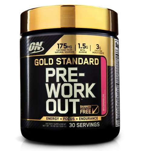 Gold Standard Pre-Workout Test 3