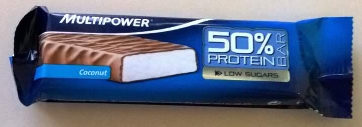 50% Protein Bar Test Multipower