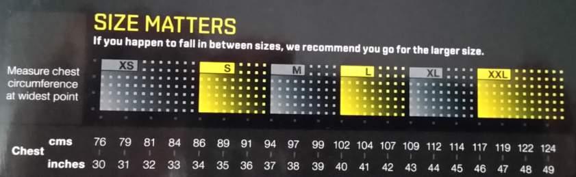 skins kompressionsshirt A400 Test