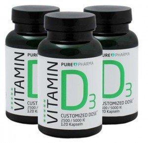 Vitamin D3 Test Testsieger
