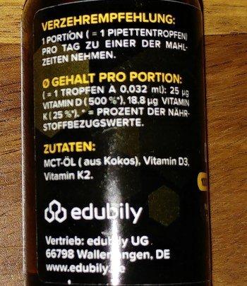 Vitamin D3 Tropfen Vergleich