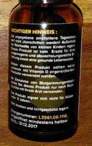 Vitamin D3 mit K
