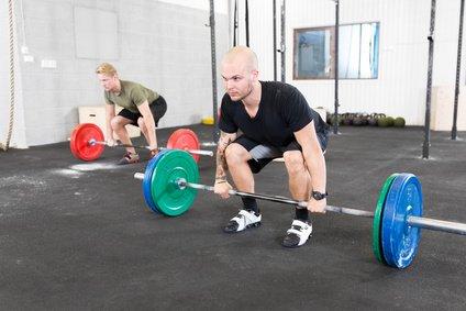 Kreuzheben Ausführung und Technik Übung
