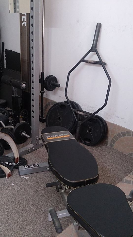 Home Gym Trapbar