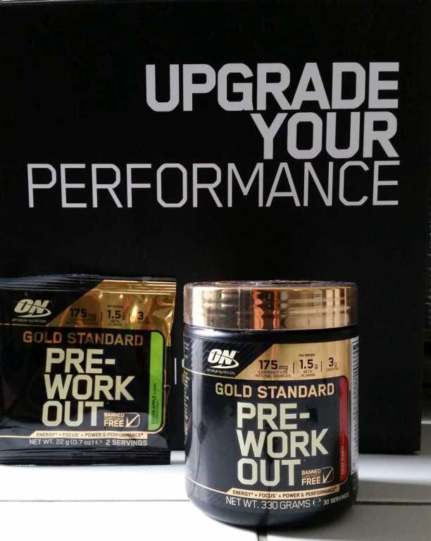 Pre-Workout Optimum Nutrition
