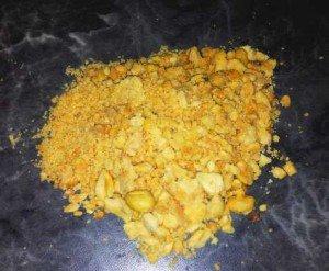 Erdnuss Eiweißkugeln
