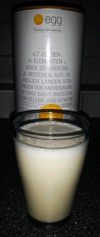 Egg Bio Eiweißpulver Test