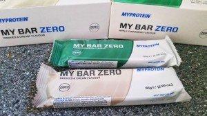 My Bar Zero Myprotein Test