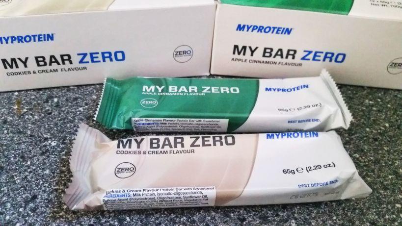 Myprotein My Bar Zero Eiweißriegel