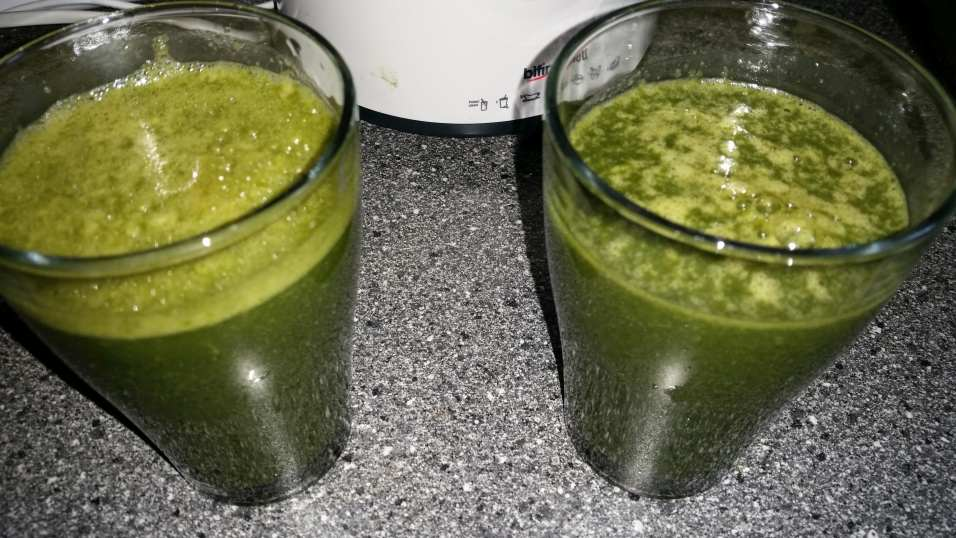Green Smoothie Gerstengras
