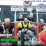 Kniebeugen Weltrekord