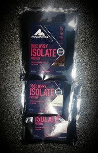 Multipower Whey Isolat Test