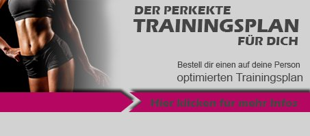 Trainingsplan Banner Frauen