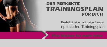 Trainingsplan Banner Frauen