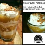 Magerquar-Apfelmus Rezept