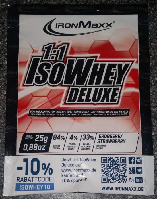 Ironmaxx Whey Isolat Testbericht