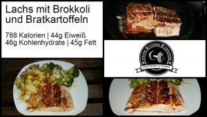 Lachs mit Brokkoli Bratkartoffeln Rezept 2