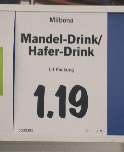 Mandelmilch von Lidl