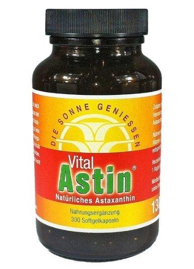 Astaxanthin Test Vitalastin